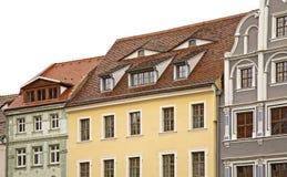 老镇在Gorlitz 德国 库存图片