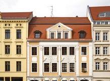 老镇在Gorlitz 德国 图库摄影