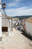 老镇奥尔维拉,西班牙 免版税库存图片