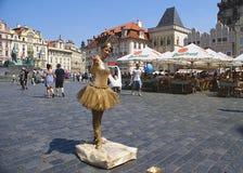 老镇布拉格,一被参观的资本在欧洲 库存图片