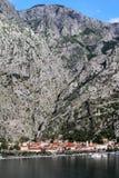 老镇科托尔黑山 免版税库存图片