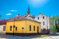 老镇科普里夫尼察,克罗地亚 免版税库存图片
