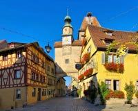老镇罗滕堡在德国 免版税库存照片