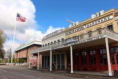 老镇萨加门多加利福尼亚美国 免版税库存图片