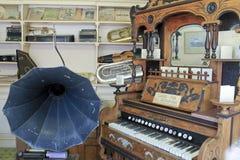 老镇露天博物馆在金伯利金刚石矿 免版税库存图片
