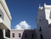 老镇,圣胡安 免版税库存图片