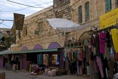 老镇,希布伦,巴勒斯坦 库存图片