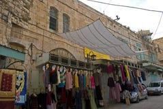 老镇,希布伦,巴勒斯坦 免版税库存图片