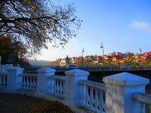 老镇, Kamenets Podolskiy,乌克兰 免版税库存图片