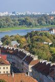 老镇, Mariensztat区在华沙 免版税库存图片