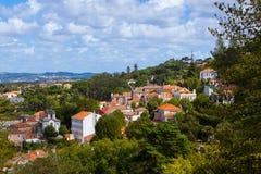 老镇-辛特拉葡萄牙 免版税库存照片