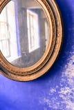 老镜子 免版税库存图片