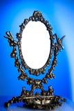 老镜子 免版税库存照片