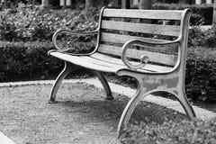 老长凳 免版税库存照片