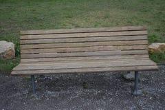老长木凳1 免版税库存图片