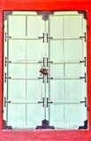 老门在景福宫宫殿 库存照片