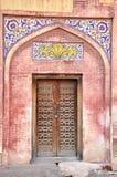 老门在被围住的市拉合尔,巴基斯坦 免版税库存图片