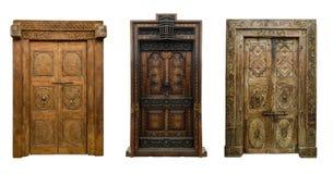 老门设置了8 免版税库存图片
