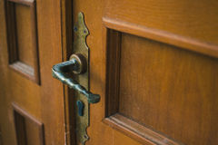 老门锁 免版税库存照片