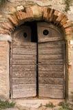 老门廊在托斯卡纳 库存图片