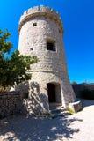 老防御塔 免版税库存照片
