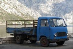 老阶段无盖货车 免版税库存照片