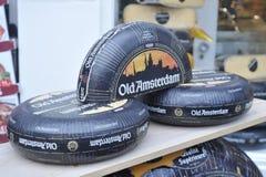 老阿姆斯特丹乳酪荷兰, 2013年12月 免版税库存照片