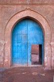 老阿拉伯门 库存图片