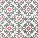 老陶瓷砖样式 免版税库存照片
