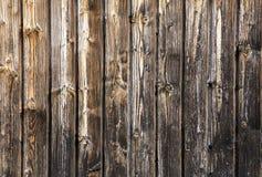 老难看的东西和黑暗的木墙壁背景 免版税图库摄影