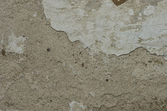 老难看的东西水泥墙壁背景 免版税图库摄影