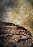 老难看的东西砖墙背景 图库摄影