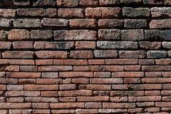 老难看的东西砖墙背景 免版税库存图片