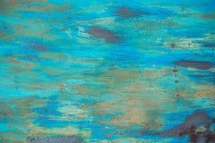 老难看的东西腐蚀了生锈的金属墙壁纹理 库存照片