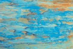 老难看的东西腐蚀了生锈的金属墙壁纹理 图库摄影