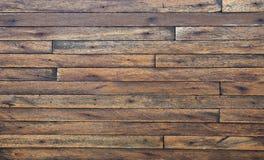 老难看的东西葡萄酒木头盘区 免版税库存照片