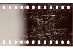 老难看的东西filmstrip 库存图片