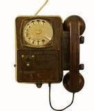 老集电话 免版税库存图片