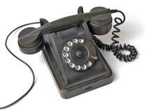 老集电话 免版税库存照片