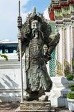 老雕象在Wat Pho 免版税图库摄影