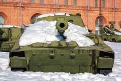 老雪苏维埃坦克 图库摄影