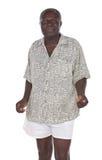 老非洲人 免版税图库摄影