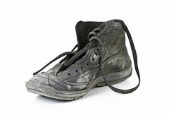 老鞋子 免版税库存照片