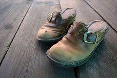 老鞋子 库存图片