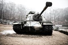 老韩国坦克 免版税库存图片