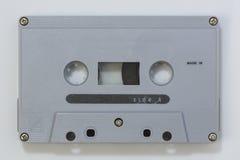 老音频Cassete磁带 库存图片