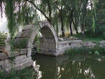 老颐和园废墟在北京 免版税库存图片