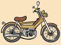 老颜色脚踏车 免版税库存图片