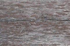 老风化了在褐色绘的木板概略的纹理 免版税库存照片