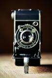 老风箱式照相机 库存照片